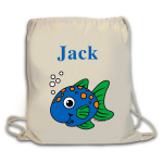 Fish Duffle Bag