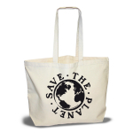 Super Tote - Save the Planet (black)